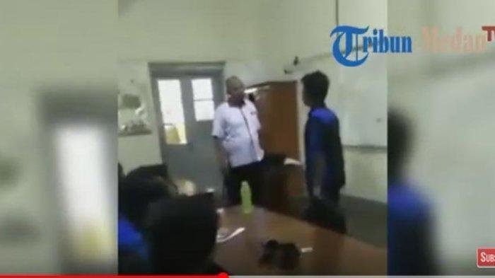 VIDEO Viral Dua Guru SMA di Medan Duel di Dalam Kelas Disaksikan Para Siswanya, Ini Penyebabnya
