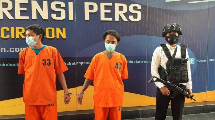 Komplotan Maling di Cirebon Ini Akui Dosa di Depan Polisi, Nyolong Besi Tower, Duitnya untuk Makan