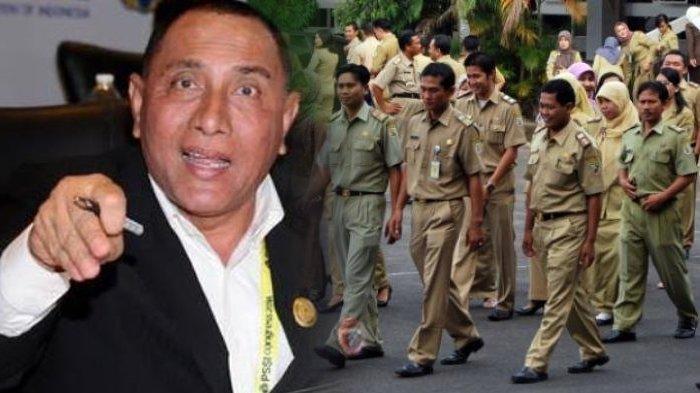 KEMARAHAN Edy Rahmayadi pada PNS di Medan, Suruh Para PNS Duduk di Lantai, Bilang Seperti Anak TK