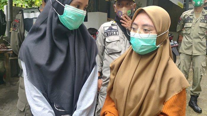 Di Bandung Barat, Warga Bawa Masker Sih, tapi Banyak yang Ogah Pakai, Kalau Ada Petugas Baru Dipakai