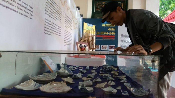 Menilik Pameran di Festival Budaya Sunyaragi Cirebon, Dari Meriam Portugis Hingga Mahkota Banten