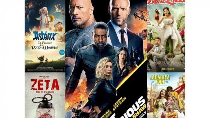 Nih 5 Film Yang Akan Tayang di Bioskop Minggu Ini, Dari Hoobs and Shaw Hingga Jabariya Jodi