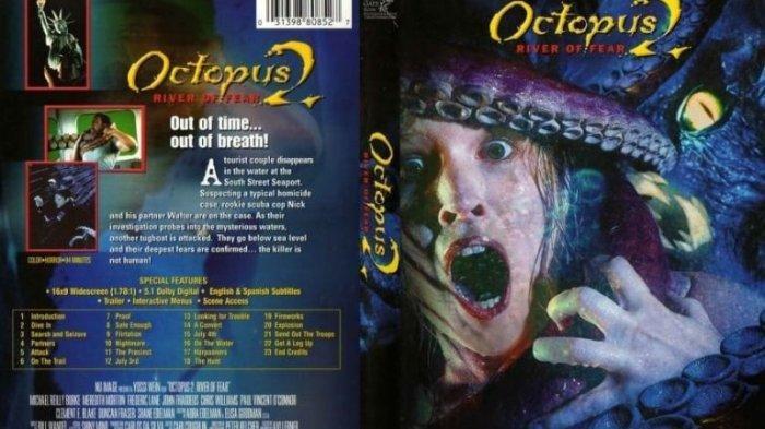 Film Action & Horor di Big Movies GTV Malam Ini, Sinopsis Film Octopus 2 River of Fear, Bikin Tegang