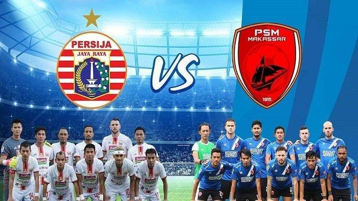 FINAL Piala Presiden Babak Pertama Persija vs PSM 0-0, Persija Masih Sulit Lewati Pertahanan PSM