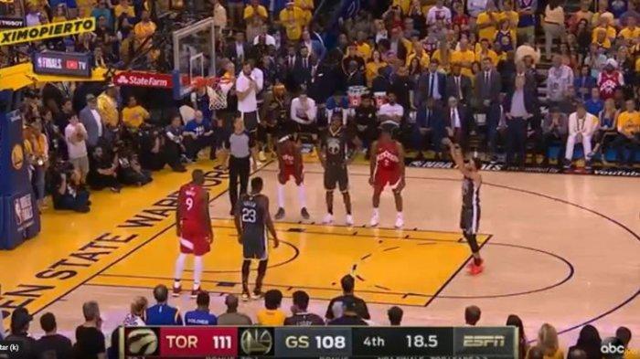 Game 6 Final NBA - Toronto Raptors Jadi Juara di Kandang Golden State Warriors