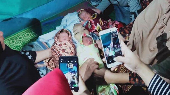 Ibu di Medan Wafat dengan Wajah Berseri, Lahirkan Bayi Kembar 3, Warganet Doakan Husnul Khotimah