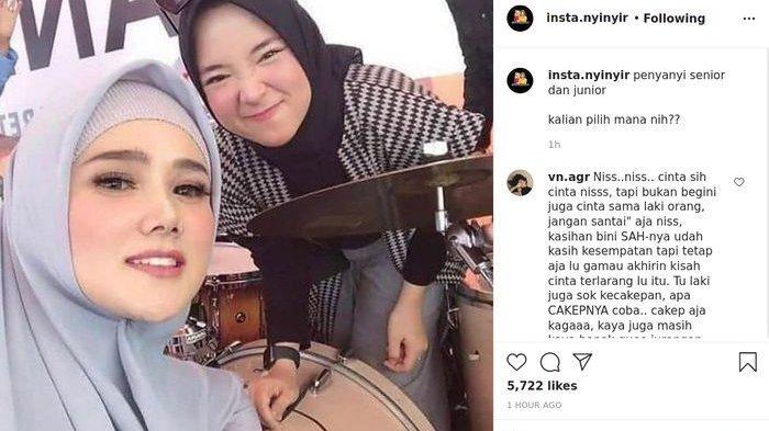 Foto Nissa Sabyan Bareng Mulan Jameela Jadi Sorotan, Dihujat Netizen: Junior Belajar dari Senior