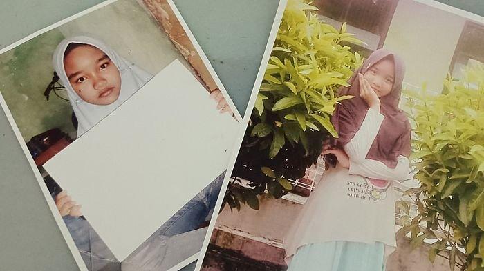 Foto Tantri Aryanti yang ditunjukkan oleh ibunya di rumahnya, Jumat (1/1/2021).