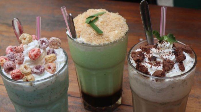 Cari Kuliner Hits Bandung? Nih Coba Segarnya Frappe Klepon Ala Delapan Padi, Harganya Rp 25 Ribu