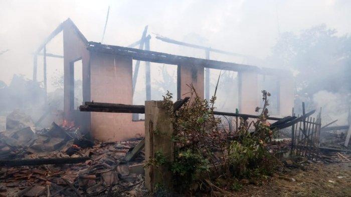 Rumah Petani di Indramayu Ludes Terbakar, Gabah Seberat 20 Ton yang Baru Panen Ikut Hangus