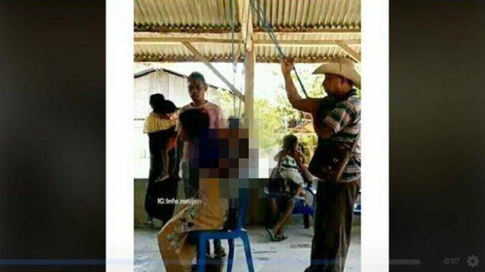 Kepala Desa di NTT Siksa Seorang Gadis Secara Brutal, Disetrum Listrik, Ternyata Dia Lakukan Hal Ini