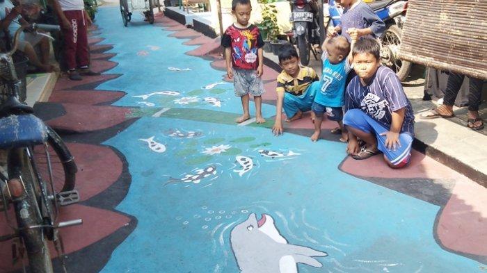 Ternyata Ide Kampung 3D Pulobaru Cirebon Berawal dari Obrolan di Warung Kopi