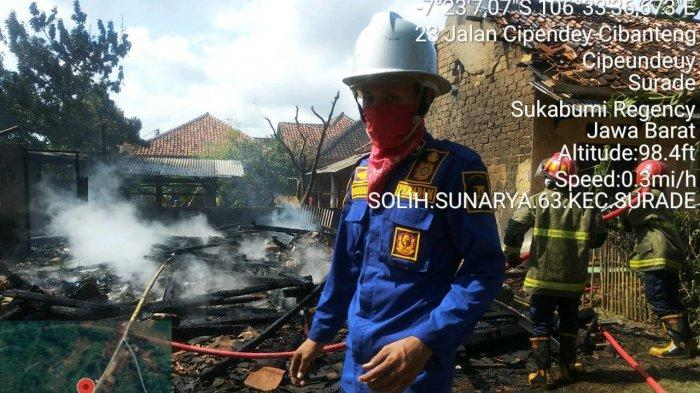 Gas Melon 3 Kg Meledak, Warga Cipeundeuy Berhamburan Minta Tolong, 3 Rumah Hangus Terbakar
