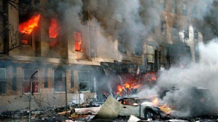 Dahsyatnya Serangan  Al Qaeda 11 September 2001, Gedung WTC Hancur, Ribuan Orang Meninggal