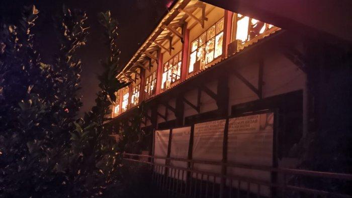 Gedung Pusbangkom JPPIW PUPR di Jatihandap Hangus Terbakar, Ini Kronologi Asal Si Jago Merah
