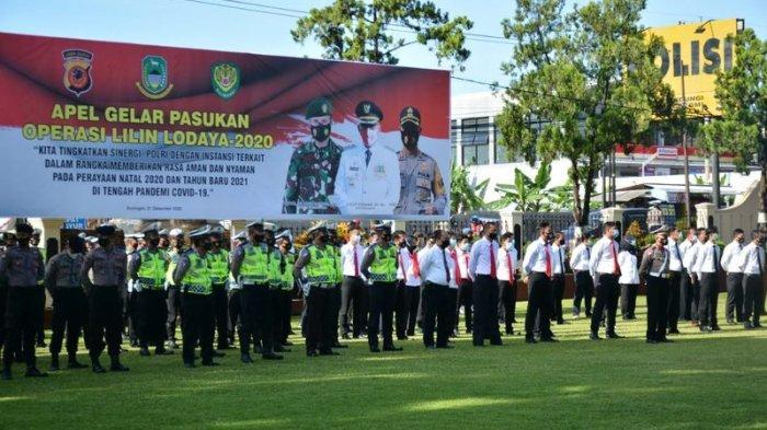 Ribuan Pos Pengamanan Tersebar di Kuningan, 675 Pos Protokol Kesehatan Disiapkan di Pusat Keramaian
