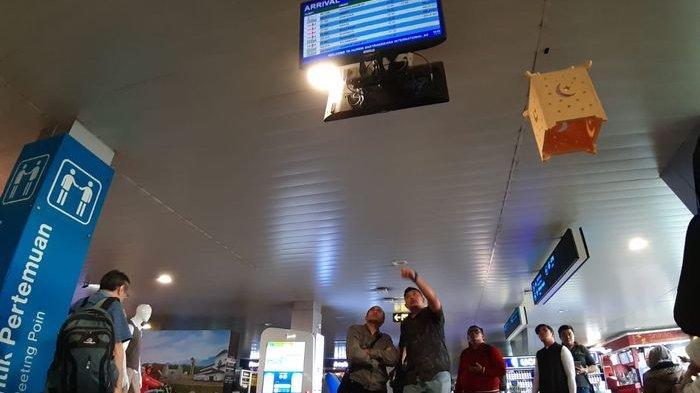 Pesawat Batik Air Diduga Tergelincir di Bandara Husein, Ini Pengakuan Petugas Informasi Bandara