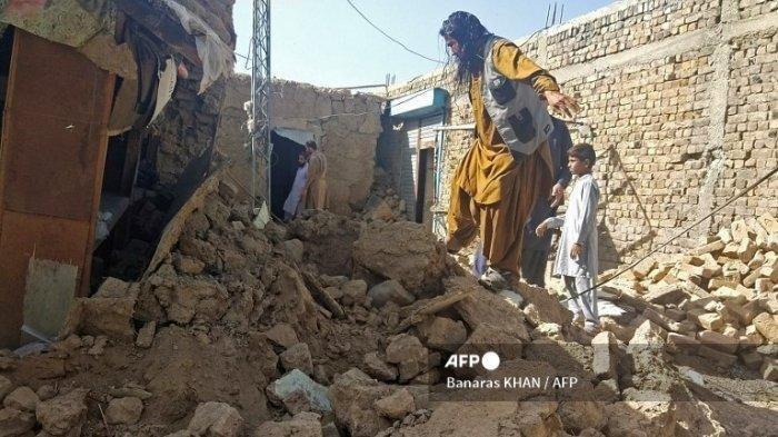 20 Orang Meninggal dan Sekitar 200 Warga Luka-luka Tertimpa Reruntuhan, Gempa 5,9 Guncang Pakistan