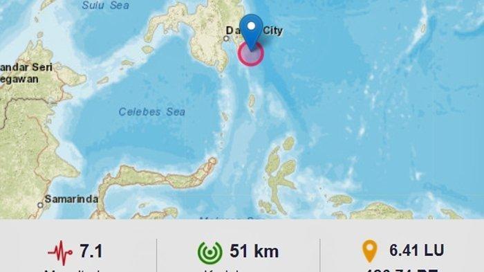 Warga Terbangun dan Lari Pontang-panting Saat Gempa Magnitudo 7,1 Guncang Sulawesi Utara