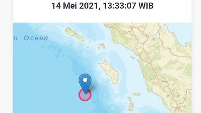 Gempa Bumi Magnitudo 7.2 Guncang Nias Barat, Masyarakat Panik dan Keluar Rumah
