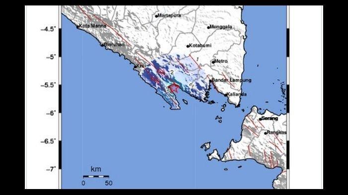 GEMPA 4,2 Magnitudo Guncang Tanggamus dan Kota Agung Lampung, BMKG Beri Penjelasan Ini