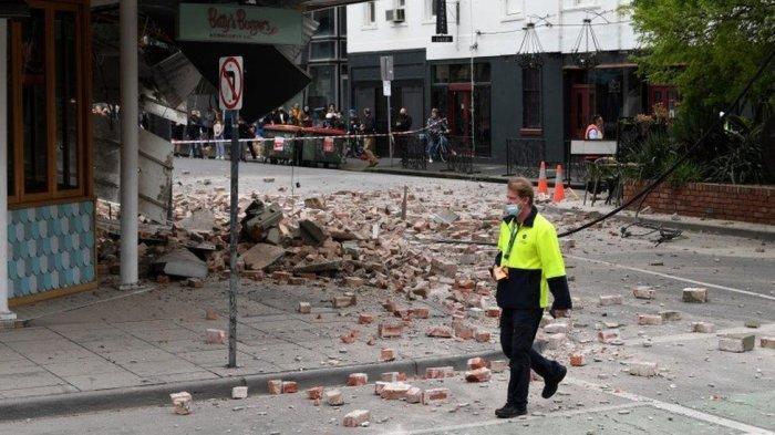 Gempa Magnitudo 6,0 Guncang Australia, Picu Kepanikan Warga Melbourne