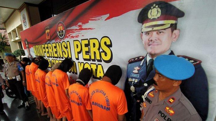 Tujuh Pelaku Bentrokan Geng Motor di Kota Cirebon yang Menewaskan 2 Orang Dijerat Pasal Berlapis