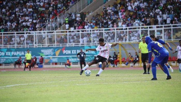 Tim Sepak Bola Putri Papua Raih Medali Emas Kalahkan Jabar di Final, Gol Tunggal Lisa Jadi Penentu
