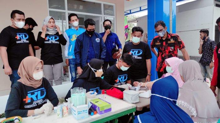 Gandeng Organisasi Pemuda, Grand Opening Apotek Ridha Farma Majalengka Gelar Cek Kesehatan Gratis