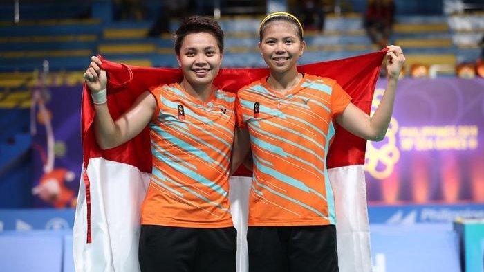 Greysia Polii/Apriyani Rahayu Sumbang Medali Emas Untuk Indonesia di SEA Games 2019