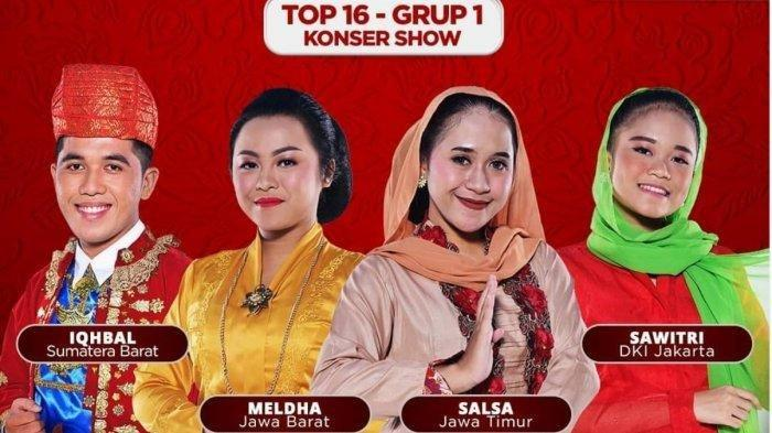 HASIL LIDA 2021, Grup 1 Top 16 Besar, Duta Dangdut DKI Jakarta Tersenggol, Peserta Ini Selamat