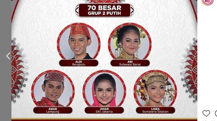 Hasil Konser Top 70 LIDA 2021 Grup 2 Putih Membuat Sedih Wakil dari Bengkulu, Ini Mereka yang Lolos