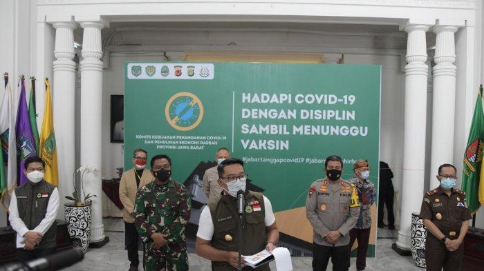 Kasus Covid-19 Melonjak, PSBB di Bodebek dan Bandung Raya Akan Mulai Diberlakukan 11 Januari 2021