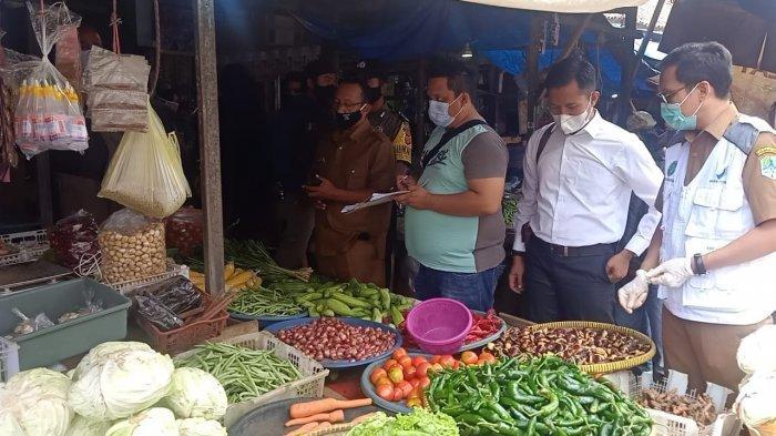 H-1 Jelang Ramadan, Tim Satgas Pangan Majalengka Sidak Pasar Talaga, Ini Hasilnya
