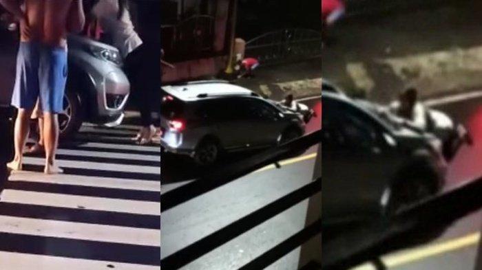 HEBOH Video Wanita Halangi Mobil hingga Terseret, Diduga Berlatar Perselingkuhan Sang Pimpinan DPRD