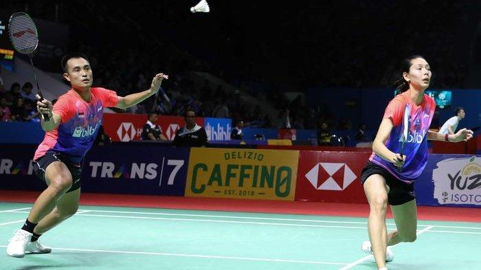 Kalah Dari Wakil Inggris, Hafiz Faizal/Gloria Emanuelle Widjaja Jadi Runner-Up Thailand Masters 2020