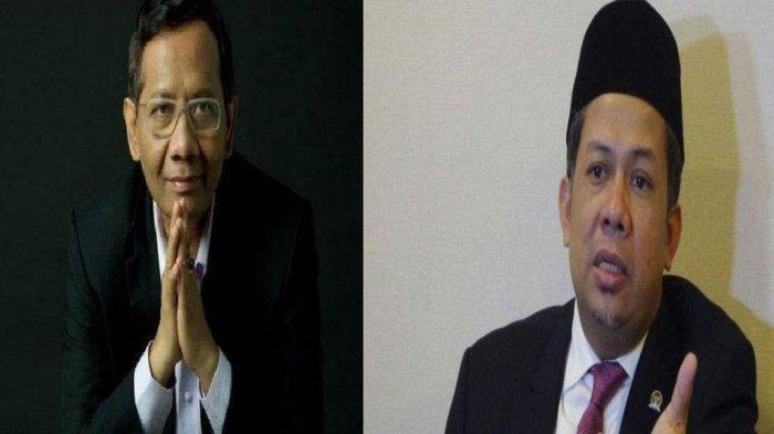 Fahri Hamzah Singgung Kekuasaan dan Ilmu, Kecewa terhadap Sikap Mahfud MD saat Konferensi Pers