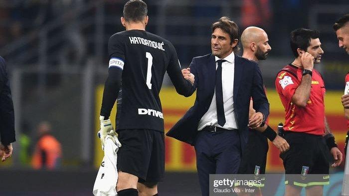 Menang Atas SPAL dan Jadi Pemuncak Klasemen, Pelatih Inter Milan Antonio Conte: Kami Puas dan Bangga