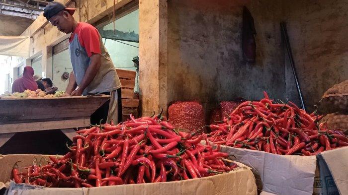 Harga Cabai Makin Pedas di Pasar Induk Indramayu Jelang Pergantian Tahun