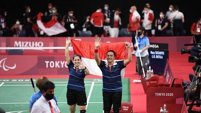 Hary Susanto Pria Asal Majalengka Raih Medali Emas di Paralimpiade Tokyo 2020, Ini Kata Sang Istri