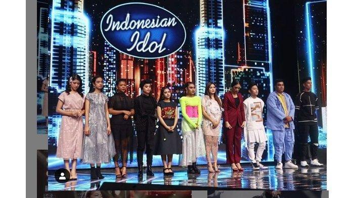 HASIL Indonesian Idol Top 11, Reaksi Juri Buat Tiara Menangis, Kontestan Pria Ini Tersingkir