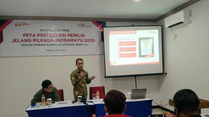 LSI Rilis Hasil Survei Popularitas Balon Bupati Pada Pilkada Indramayu 2020, Daniel Lebih Terkenal