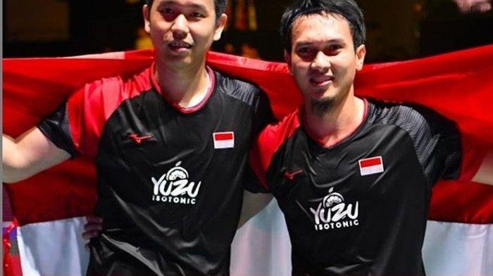 Sukses Jadi Juara, Ahsan/Hendra Sebut Kejuaraan Dunia 2019 Paling Beda & Istimewa Karena Alasan Ini