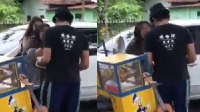 VIDEO VIRAL Ibu-ibu Hina Seorang PKL Karena Pacaran Dengan Anaknya, Bilang Tidak Selevel