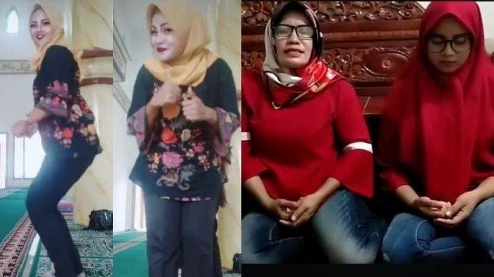 VIRAL VIDEO Tiga Wanita Joget TikTok di Dalam Masjid, Meminta Maaf dan Mengaku Menyesal