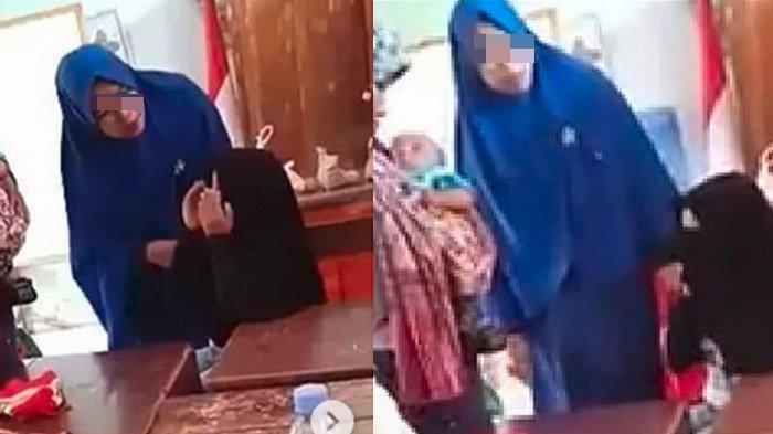 VIDEO VIRAL, Seorang Ibu-Ibu Memukul Seorang Bocah SD di Makassar, Aksinya Dikecam Warganet