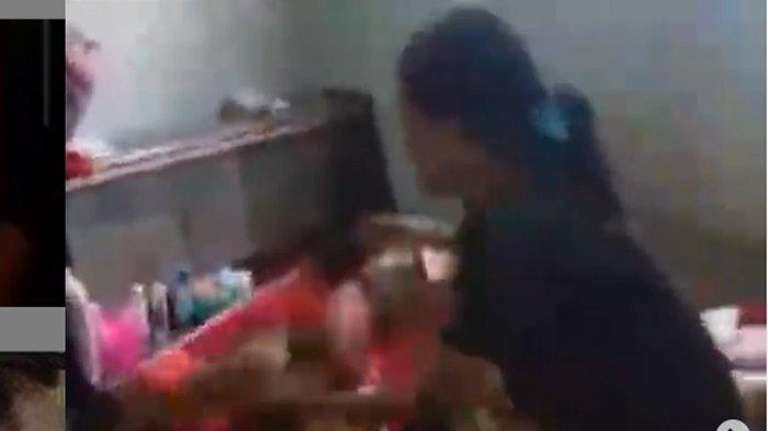 Seorang Ibu di Cirebon Pukul & Siram Anak Kandung Pakai Air Panas, Kini Diperiksa Polresta Cirebon