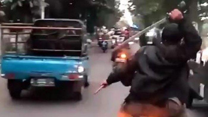 Geng Motor di Purwakarta Tawuran, Satu Orang Anggota Geng Tewas, Kena Luka Sabetan