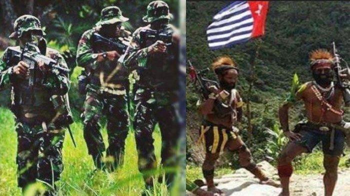 Jalur Pelariannya Dikepung TNI-Polri, KKB Papua Masih Bernyali Besar Mengancam Akan Lakukan Ini
