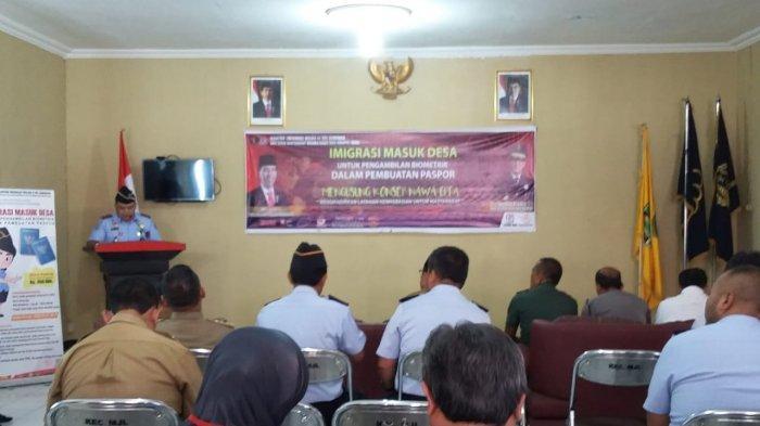 Imigrasi Cirebon Gelar Giat Program Imigrasi Masuk Desa, Layani 40 Pembuatan Paspor Per hari